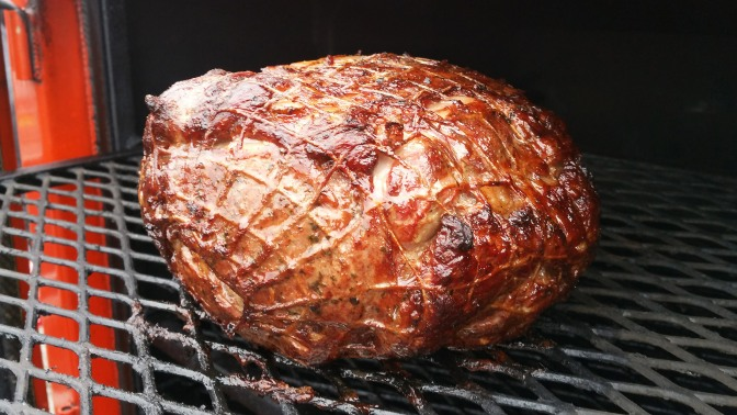 Holiday Tailgating w/ Smoked Prime Rib!